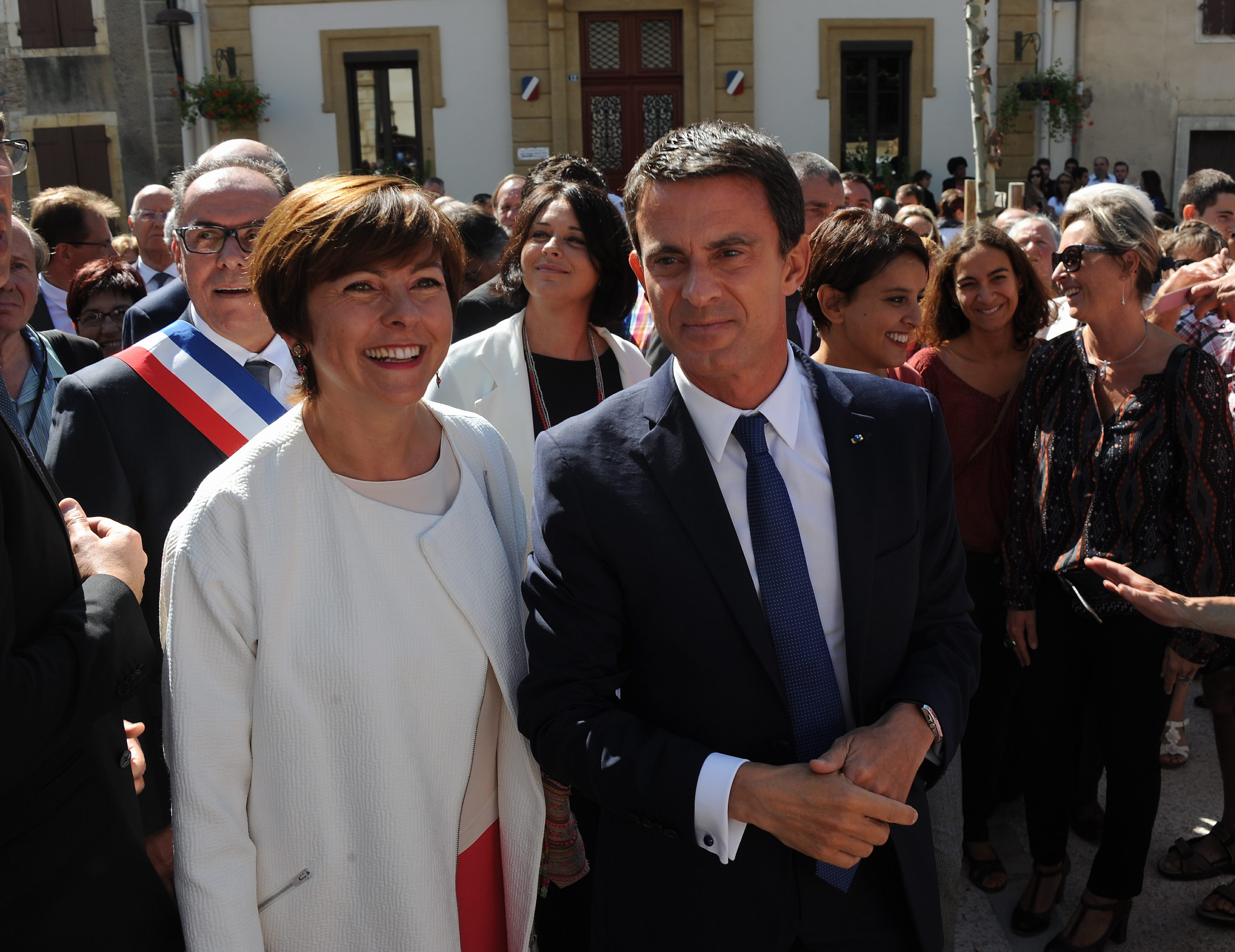 HAUTE-GARONNE - Déplacement de Manuel Valls